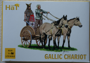 HaT 1/72 HAT8139 Gallic Chariot (Ancients)